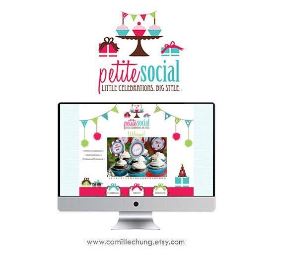 Editable Web Design, Custom Logo, 5 Page Custom Website, Graphic Design, WordPress Website, Blog, Website Design, SEO, Editable Website