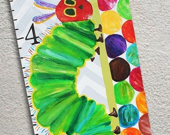 Canvas Growth Chart Custom Caterpillar