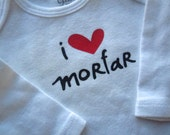 RESERVED Morfar Love bodysuit