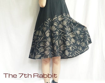 Relaxzy Dress...Organic Cotton Black Colour (3)