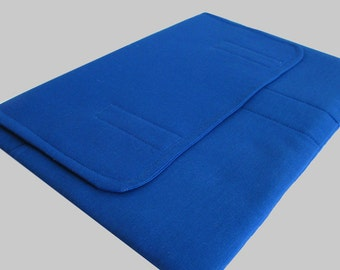MacBook Air Sleeve, MacBook Air Case, MacBook Air 11 Inch Sleeve, MacBook Air 11 Case, MacBook Air Cover Solid Blue