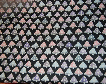 Alexander Henry Pixie Tillbrook MushroomToadstool Fairytale Fabric 1 yard OOP Out of Print Hard To Find RARE