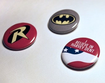 Batman Button Set
