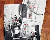 NUDIEZINE Issue No. 26: tsurufoto - Team Rockstar collabo zine & 2 zine posters - MATURE