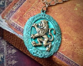 Royal Lion Necklace