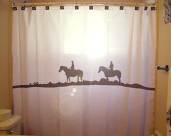 Popular items for horse shower curtain on Etsy