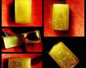 MERMAID TREASURE - Solid Perfume in Vintage DuBarry Hudnut Flapper Dance Compact