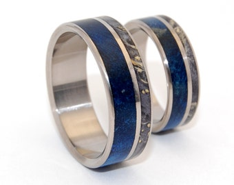 wedding rings, titanium rings, wood rings, mens rings, Titanium Wedding Bands, Eco-Friendly Wedding Rings, Wedding Rings - SWOON