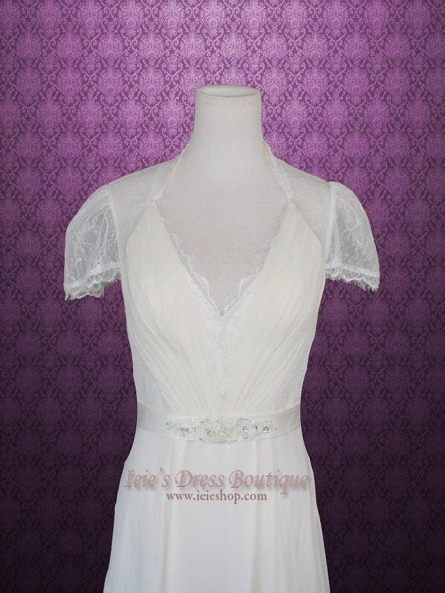 Dantelle Vintage Inspired Lace Wedding Dress