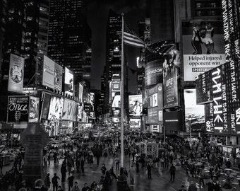 New York City Photography   -  Middle America, Times Square   - 11x17 Print on Kodak Professional Supra Endura Paper