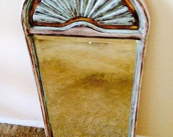 Vintage Bombay&Co. Beveled Mirror