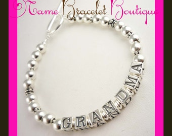 Shop our huge selection of Grandma Bracelets, Mother Bracelets. Any names or size and colors