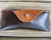 Ray Ban Wayfarer Tooled Leather Case