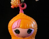 Lalaloopsy Orange Peanut Necklace