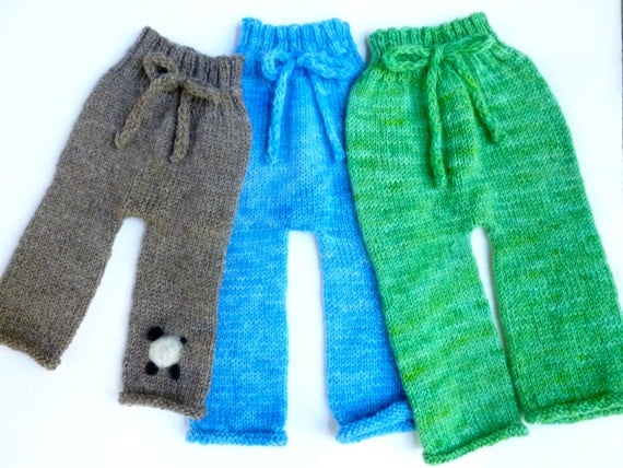 Pattern For Easy Knit Baby Pants