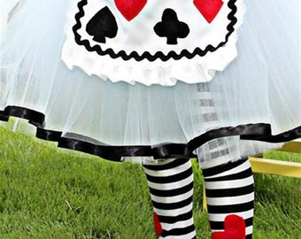 Alice in wonderland striped leg warmers