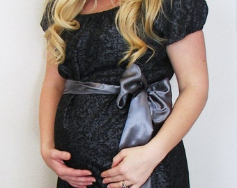 Maternity Hospital Gown in McKenna - Perfect for Nursing and Skin to Skin - Choose Options