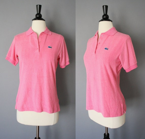 80s Polo Shirt Vintage 1980s Womens Izod By