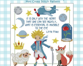 My Prince Children Fairytale Sampler Cross Stitch PDF chart