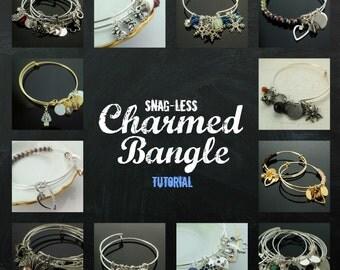 Charmed Bangle pdf - DIY Jewelry Instructions - Snag - Less