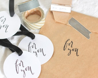 Calligraphy For You Stamp