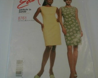 Pattern- McCall 8761 Tall Misses Dress- Sizes 14 - 20