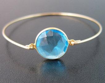 Blue Apatite Bracelet, Apatite Jewelry, Blue Stone Bracelet, Blue Stone Jewelry, Aqua Bracelet, Aqua Jewelry, Blue Gemstone Bracelet