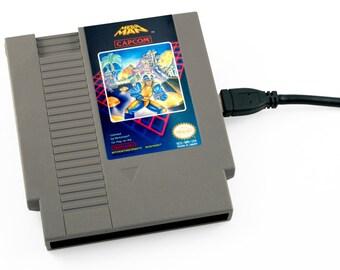 NES Hard Drive - Mega Man USB 3.0