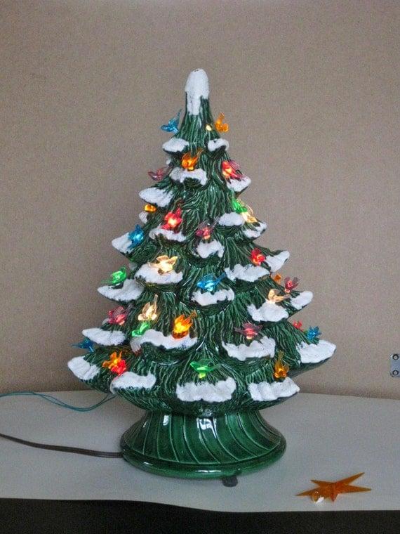 Vintage Ceramic Christmas Tree Lights
