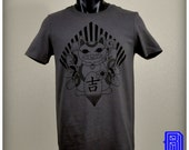Lucky Cat (Octopuss) Design on a Unisex T-Shirt