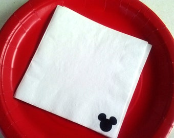 Mickey Mouse Party Napkins - 50 pack