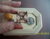 Orgone Making Supplies Energy Generator Activator Hot Plate also for Reiki Crystal Grid Activator - CLOCKWISE
