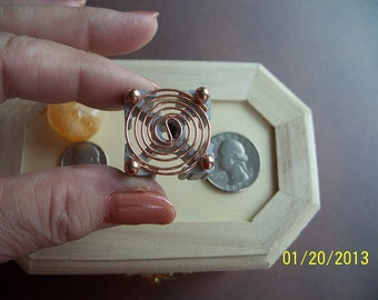 Orgone Making Supplies Energy Generator Activator Hot Plate A for Reiki Crystal Grid Activator - CLOCKWISE