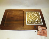 MCM cheese board with tile- George Briard new