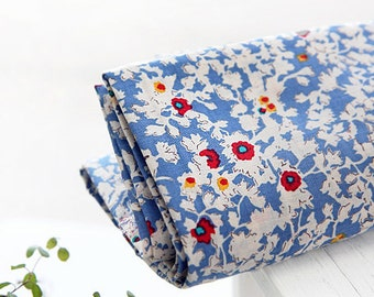 Nancy Floral Bllue ASSA Cotton, U7159