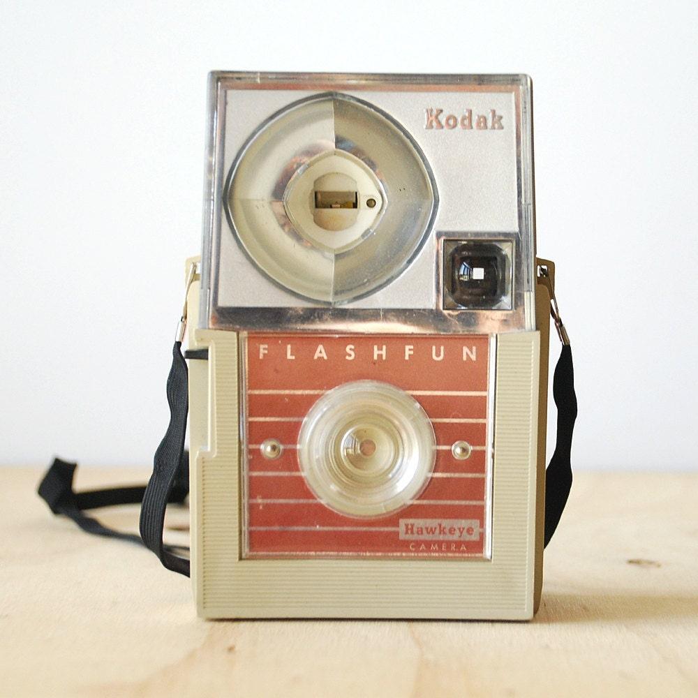 Vintage Kodak Flashfun Hawkeye Camera 1960s Mid Century Modern