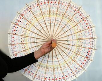 Parasol Ikat Pattern