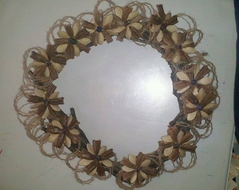 Vine and Gourd Seed Wreath