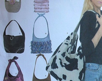 Purse Sewing Pattern UNCUT Simplicity 4117 bag handbag