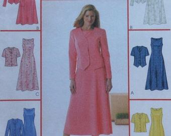Dress and Jacket Sewing Pattern UNCUT McCall's 4094 Sizes 12-16