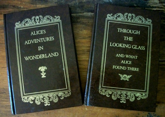 Keepsake Duo Alice's Adventures in Wonderland and Through the Looking Glass Books