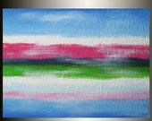 Original Painting, Abstract, Contemporary, Landscape Painting, Acrylic, Modern, Textured, Fine Art, Art, 18 x 24, Len Dickson