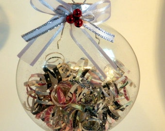 Hand decorated Christmas Ornament