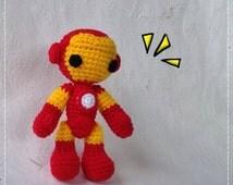 Iron Man Amigurumi Free Pattern : Popular items for crochet super hero on Etsy