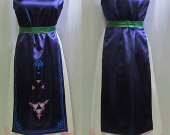 Legend of Zelda A Link Between Worlds Princess Hilda Cosplay Costume Adult Women's Size