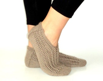 Christmas Gift, Wool Slippers, Womens Slippers, Handmade Slippers, Shoes, Girls Shoes, House Slippers