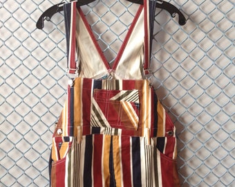 kids striped overalls