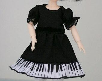 YoSD piano dress for BJD