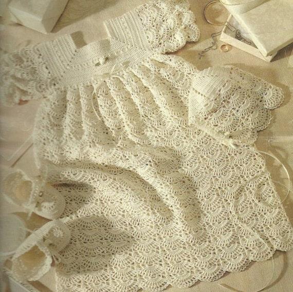 vintage crochet christening gown patterns | Fashion Gallery