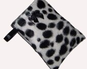 Dalmation Spotty Mobile Phone Cellphone Ipod Gadget Case Pouch Sock PADDED Gift Idea